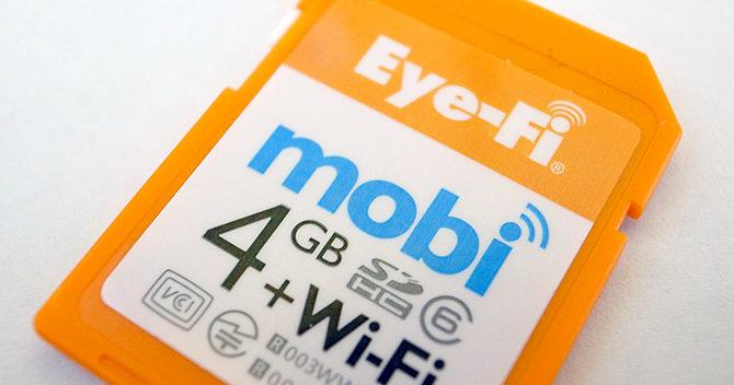 超便利!Eye-Fi でデジカメ写真をスマホに転送して整理する
