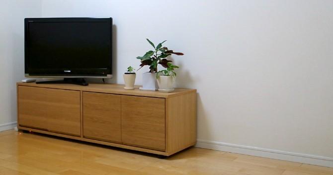 テレビ周りがやっとスッキリ!無印良品のテレビボード購入